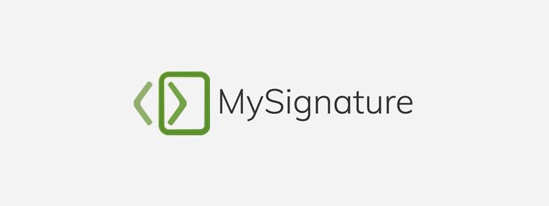 MySignature.io - HTML Signature Generator